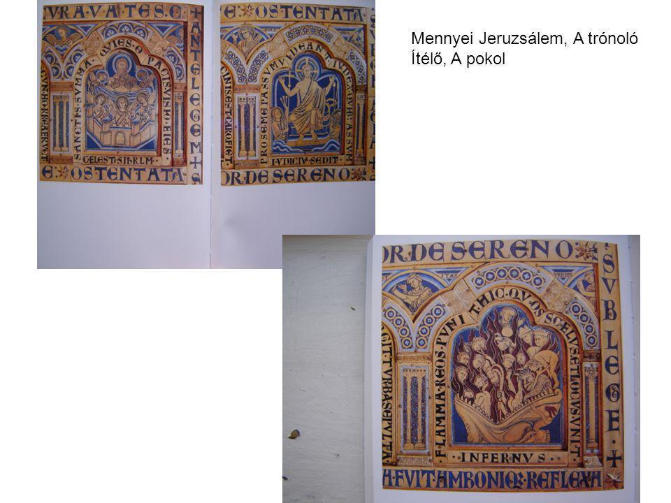 Mennyei Jeruzsálem, A trónoló Ítélő, A pokol