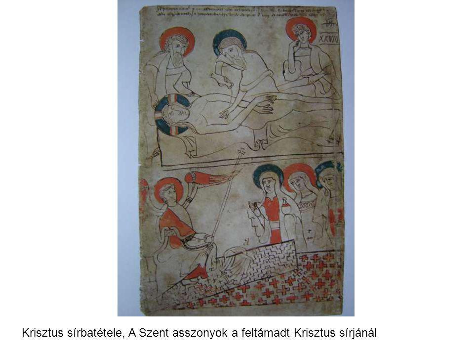Krisztus sírbatétele, A Szent asszonyok a feltámadt Krisztus sírjánál