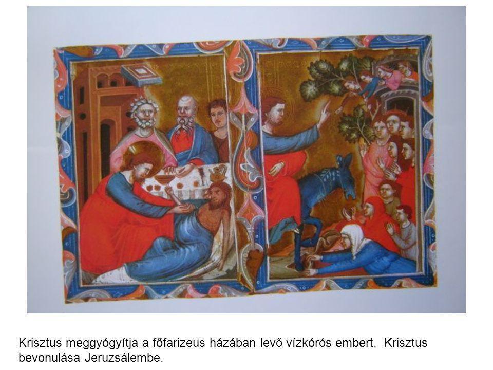 Krisztus meggyógyítja a főfarizeus házában levő vízkórós embert