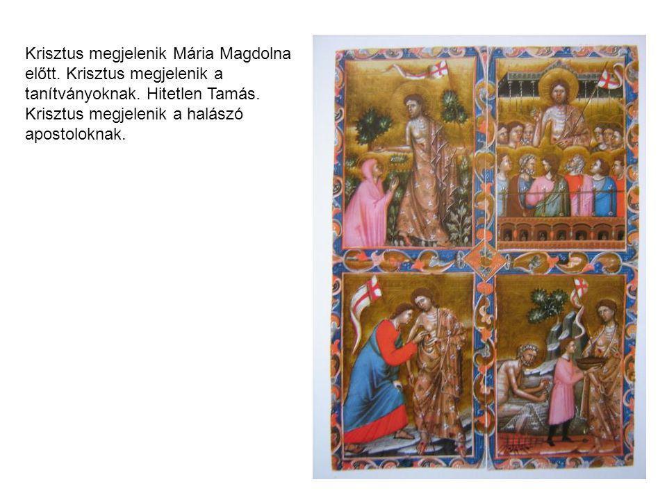 Krisztus megjelenik Mária Magdolna előtt