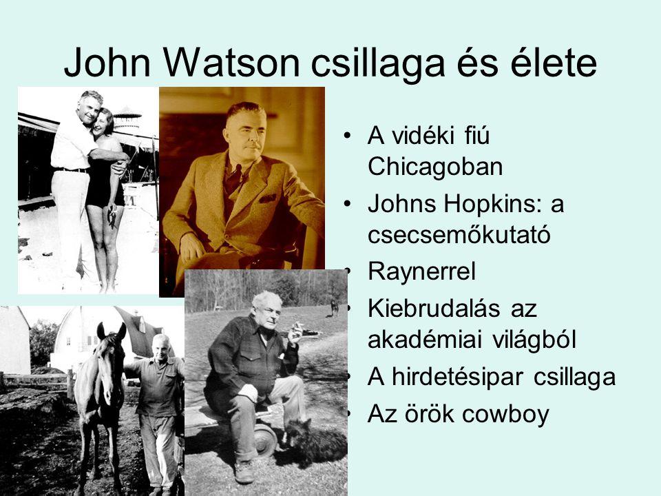 John Watson csillaga és élete
