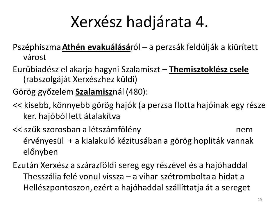 Xerxész hadjárata 4.