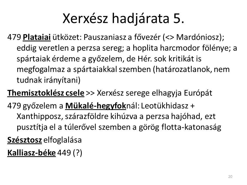 Xerxész hadjárata 5.