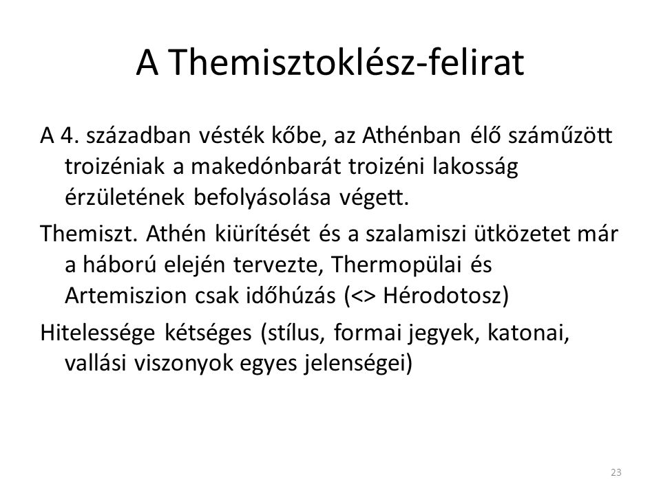 A Themisztoklész-felirat