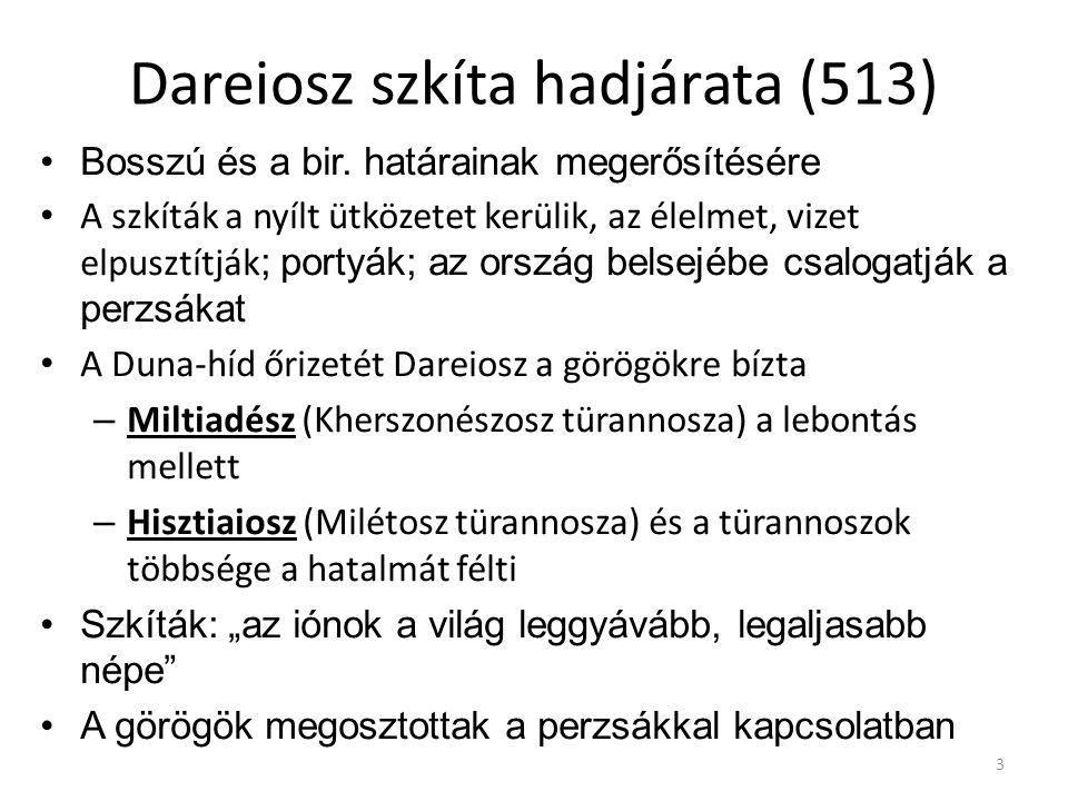 Dareiosz szkíta hadjárata (513)