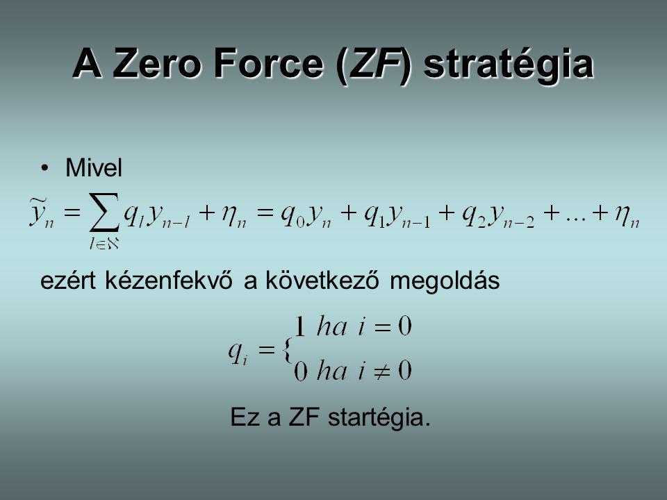 A Zero Force (ZF) stratégia