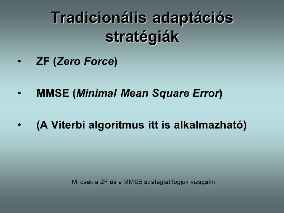 Tradicionális adaptációs stratégiák