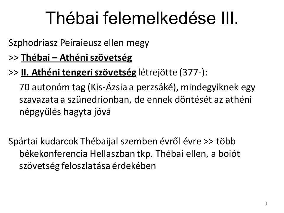 Thébai felemelkedése III.