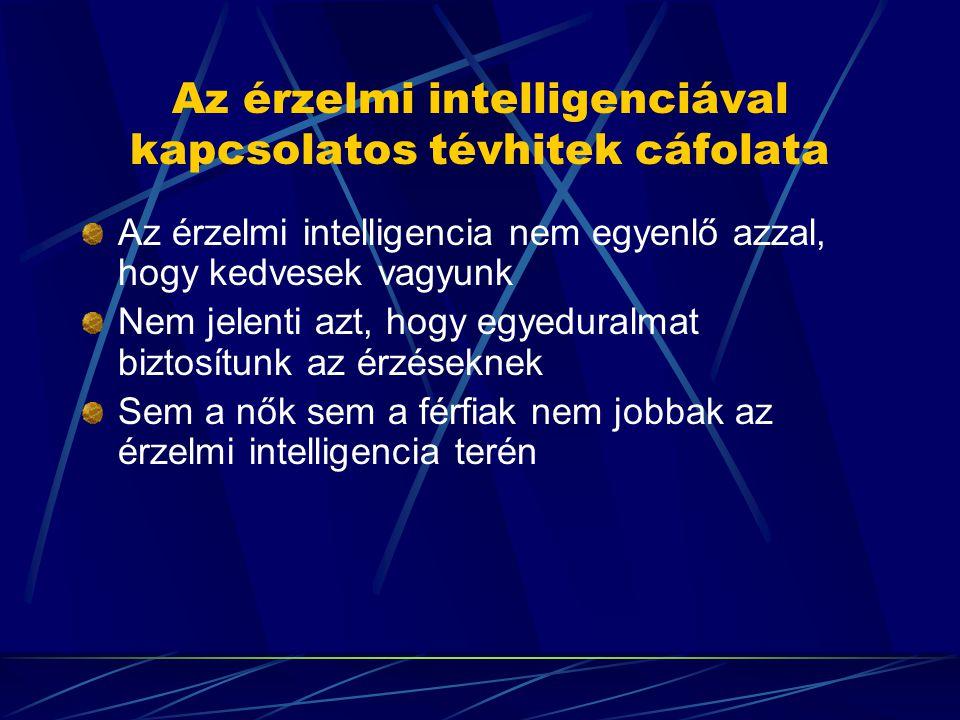 Az érzelmi intelligenciával kapcsolatos tévhitek cáfolata