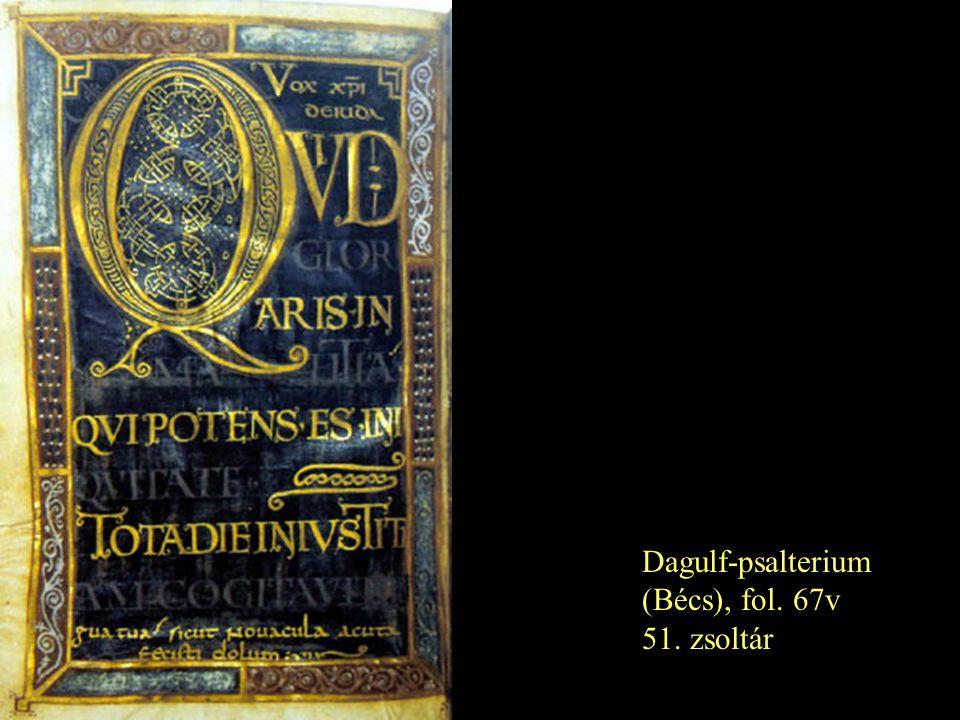 Dagulf-psalterium (Bécs), fol. 67v 51. zsoltár