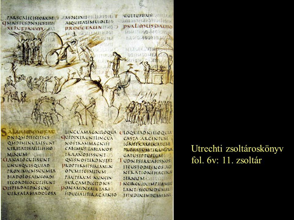 Utrechti zsoltároskönyv