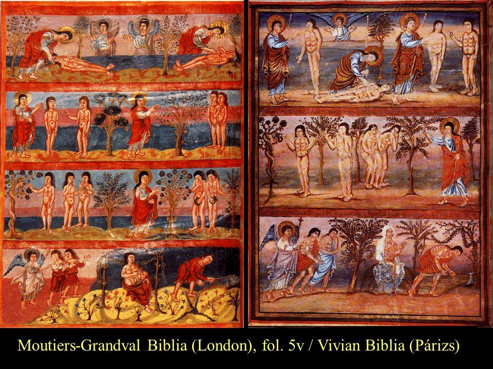 Moutiers-Grandval Biblia (London), fol. 5v / Vivian Biblia (Párizs)