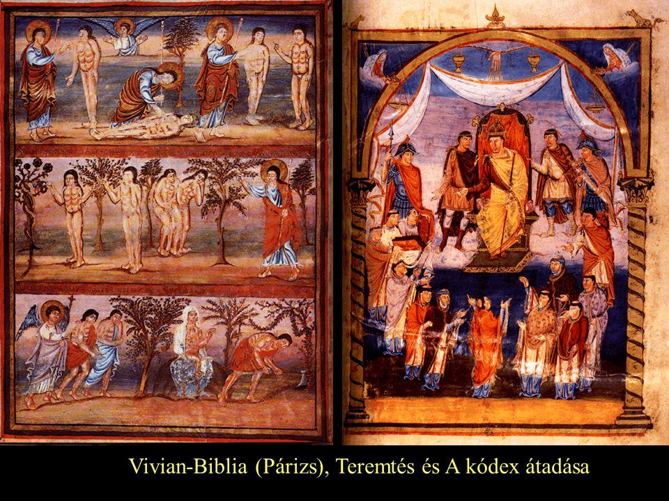 Vivian-Biblia (Párizs), Teremtés és A kódex átadása