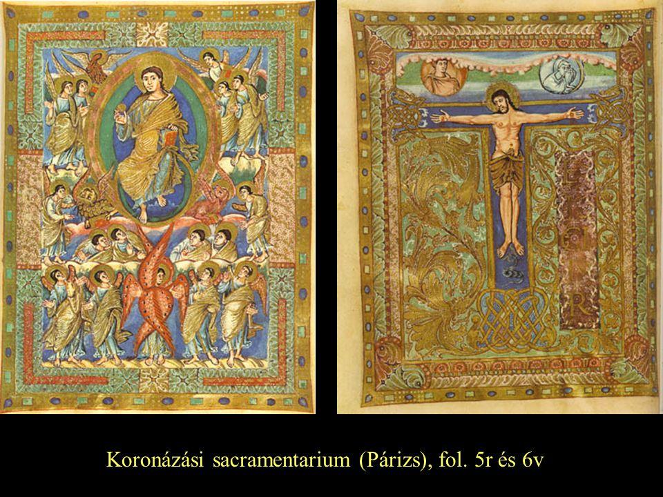 Koronázási sacramentarium (Párizs), fol. 5r és 6v