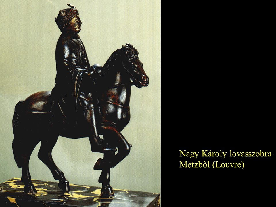 Nagy Károly lovasszobra