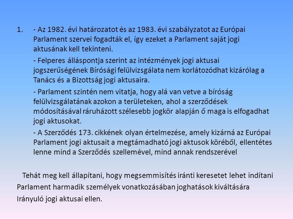 - Az 1982. évi határozatot és az 1983