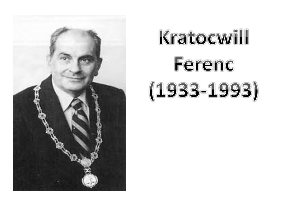 Kratocwill Ferenc (1933-1993)