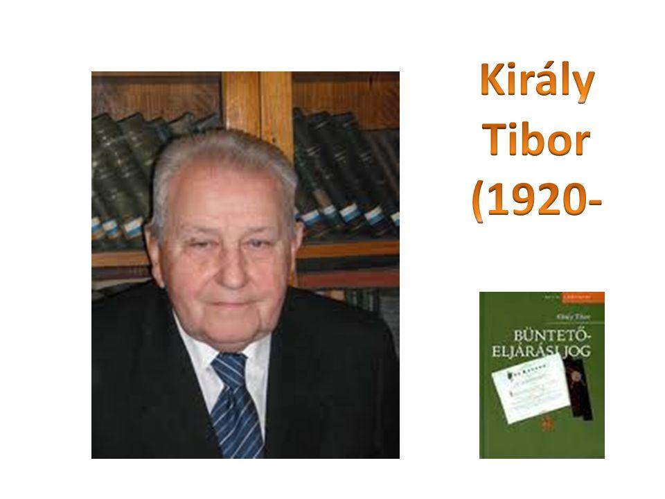 Király Tibor (1920-