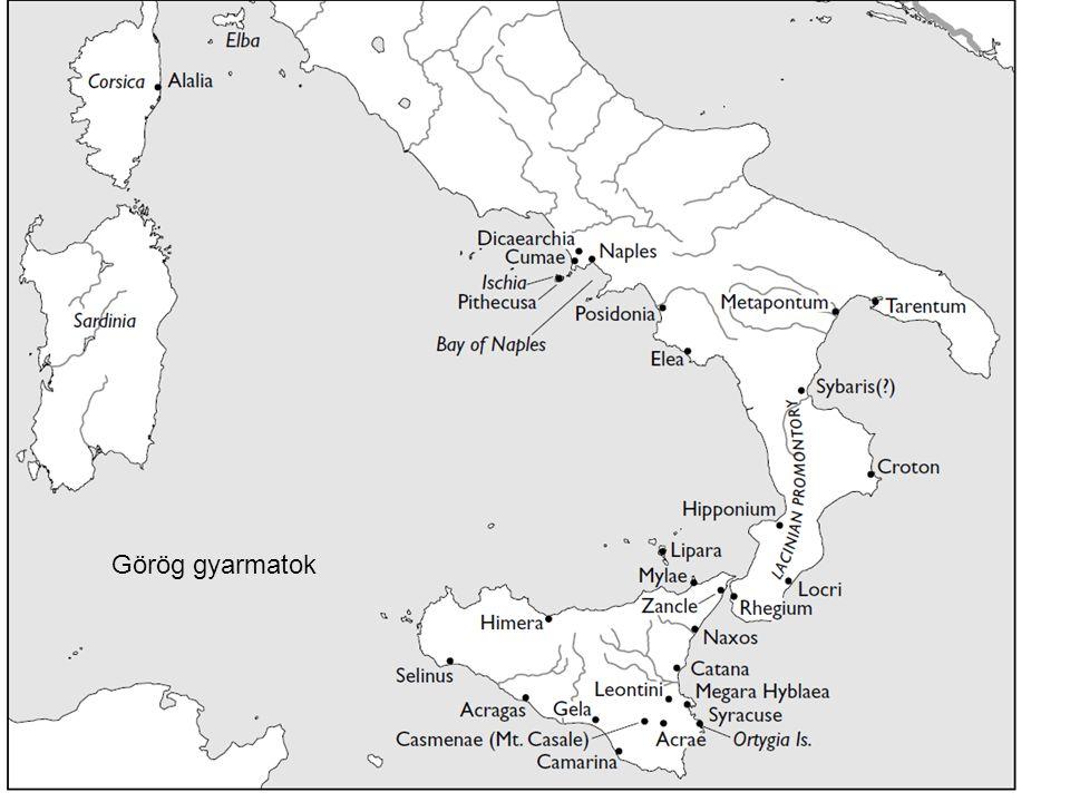 Görög gyarmatok