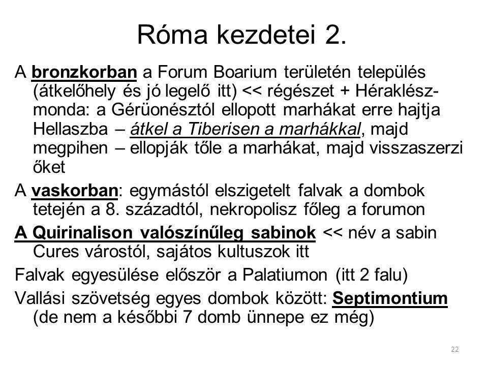 Róma kezdetei 2.