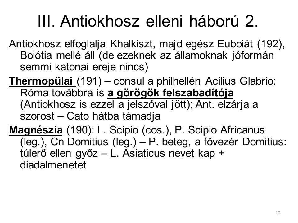 III. Antiokhosz elleni háború 2.