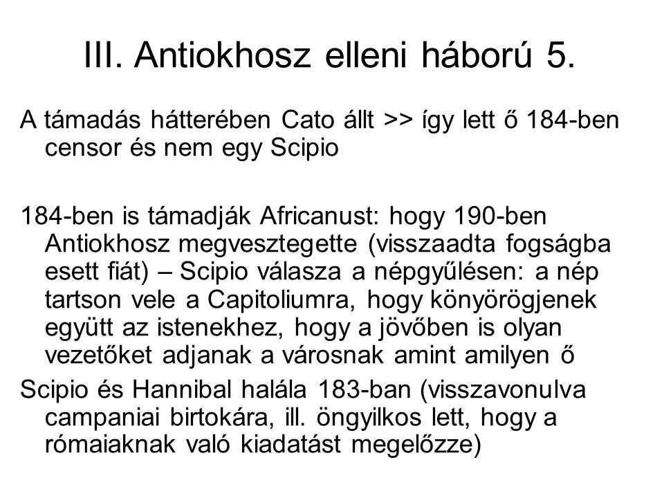 III. Antiokhosz elleni háború 5.