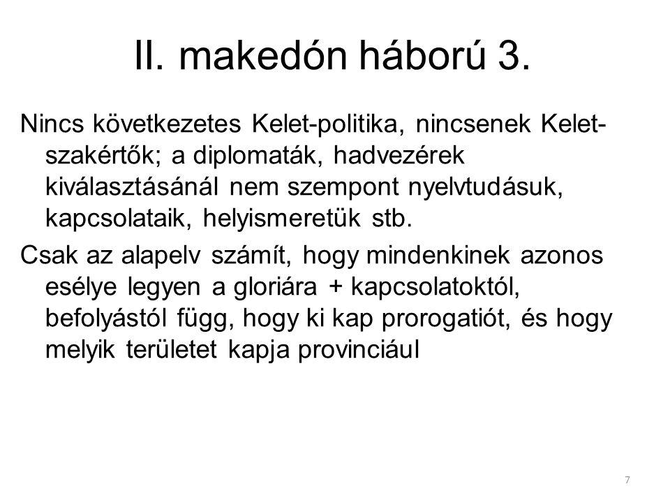 II. makedón háború 3.