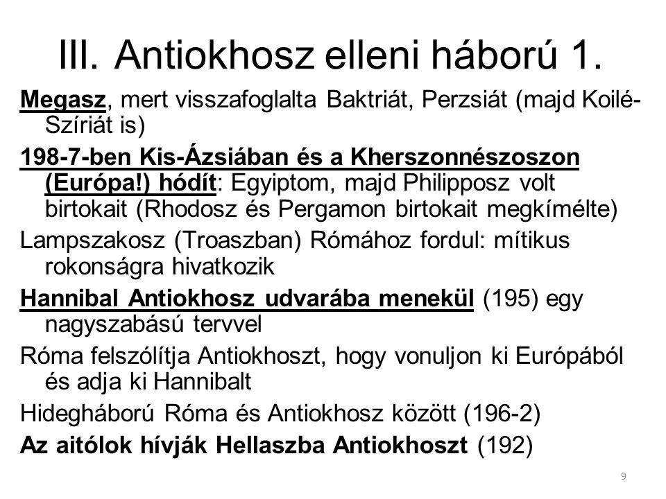 III. Antiokhosz elleni háború 1.