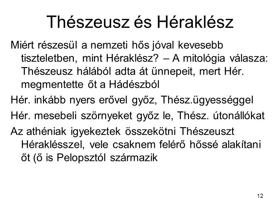 Thészeusz és Héraklész