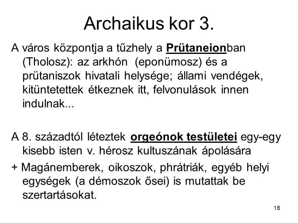 Archaikus kor 3.