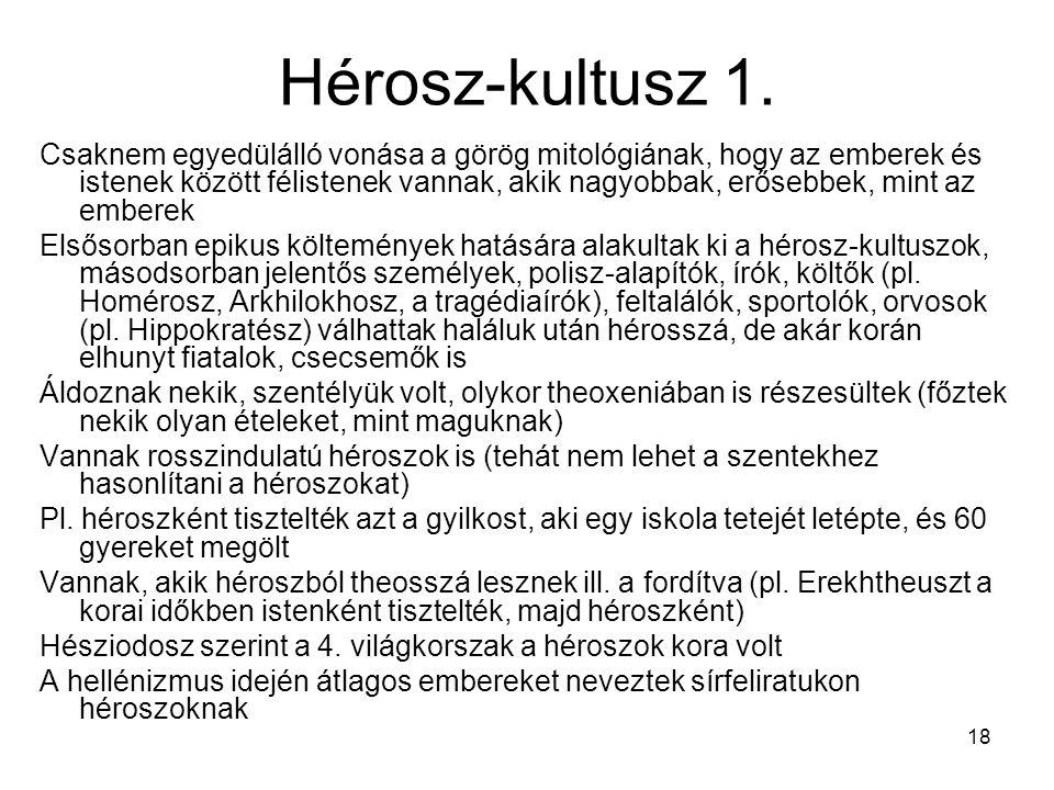 Hérosz-kultusz 1.