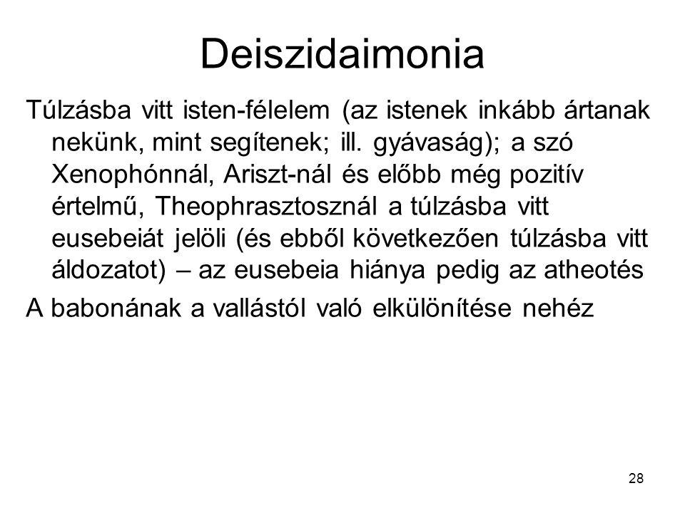 Deiszidaimonia