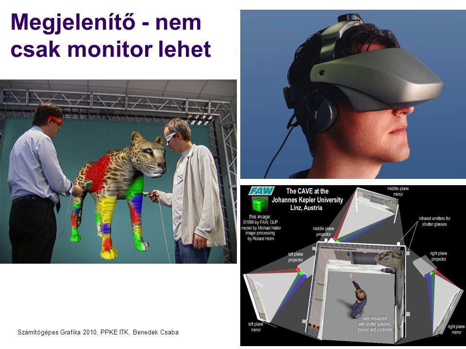 Megjelenítő - nem csak monitor lehet