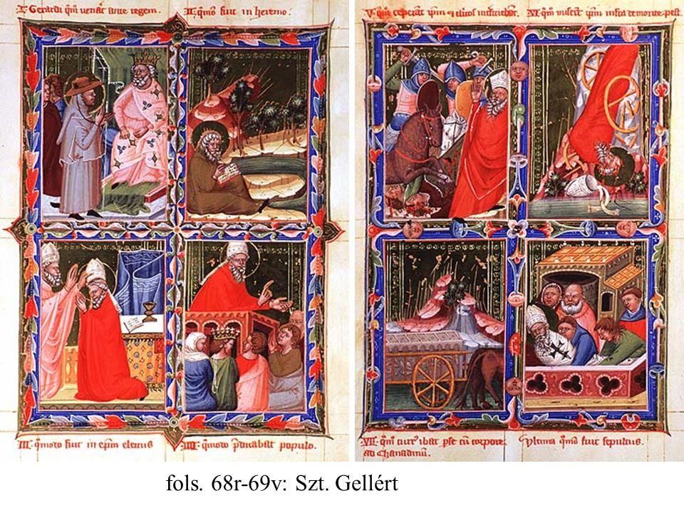 fols. 68r-69v: Szt. Gellért
