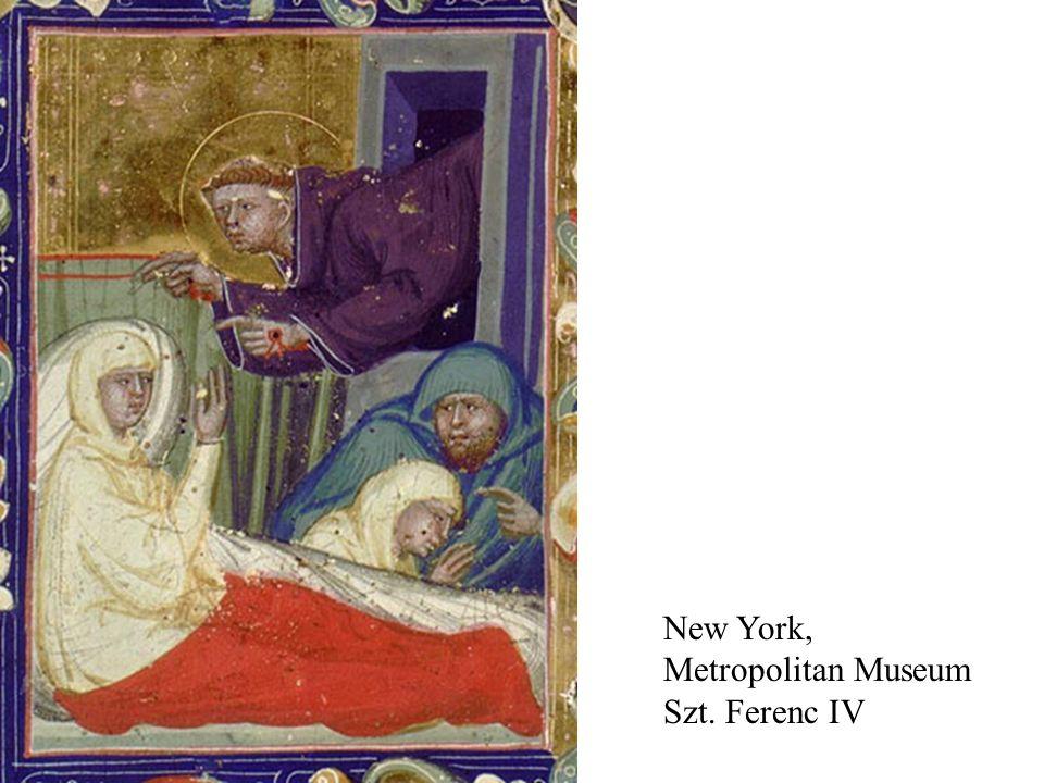 New York, Metropolitan Museum Szt. Ferenc IV