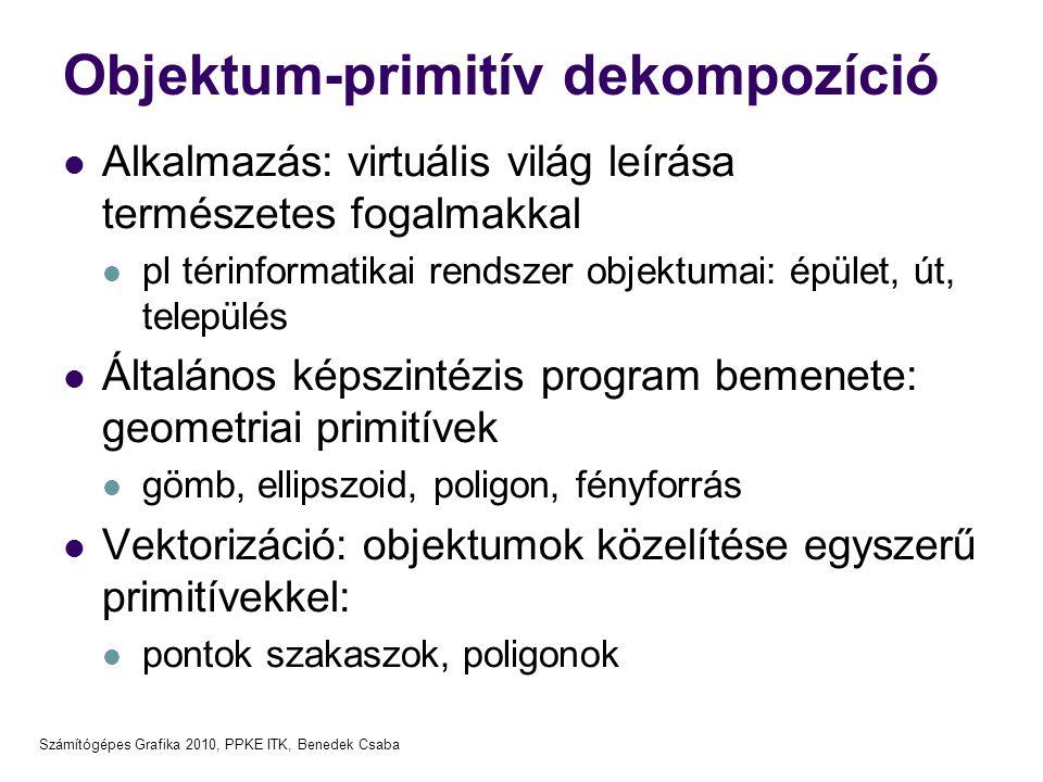 Objektum-primitív dekompozíció