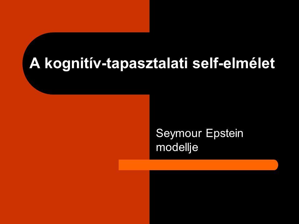 A kognitív-tapasztalati self-elmélet