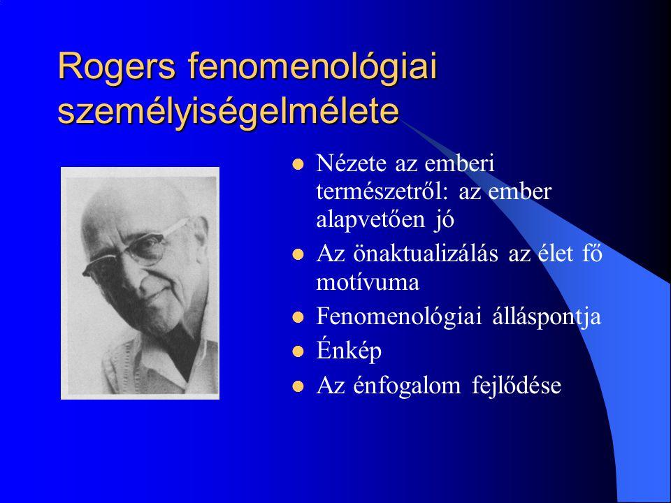Rogers fenomenológiai személyiségelmélete