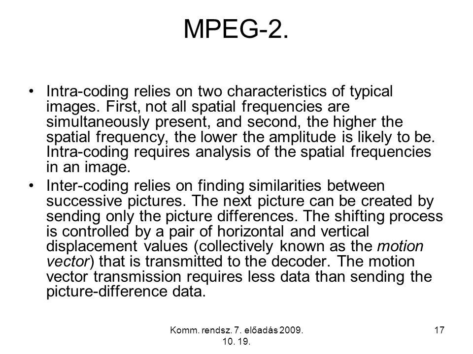 MPEG-2.