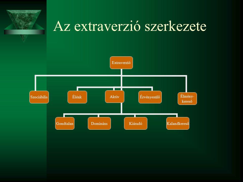 Az extraverzió szerkezete