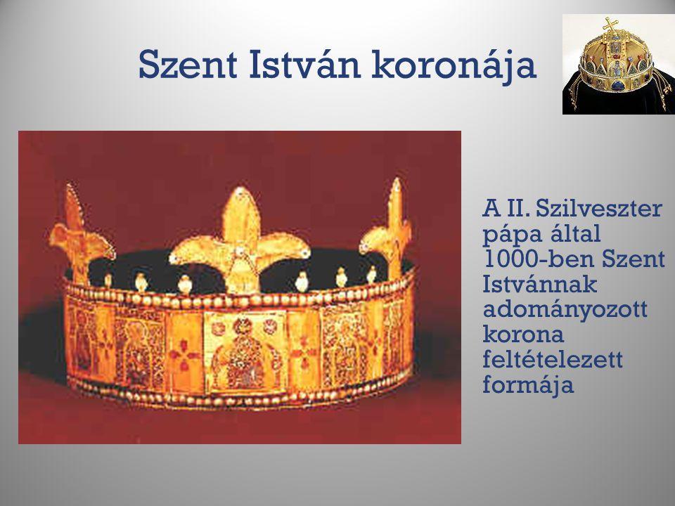 Szent István koronája A II.
