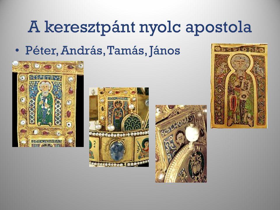 A keresztpánt nyolc apostola