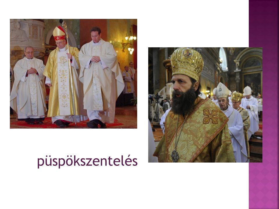 püspökszentelés