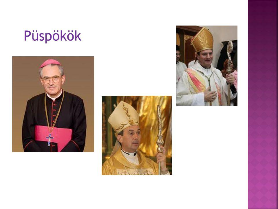 Püspökök