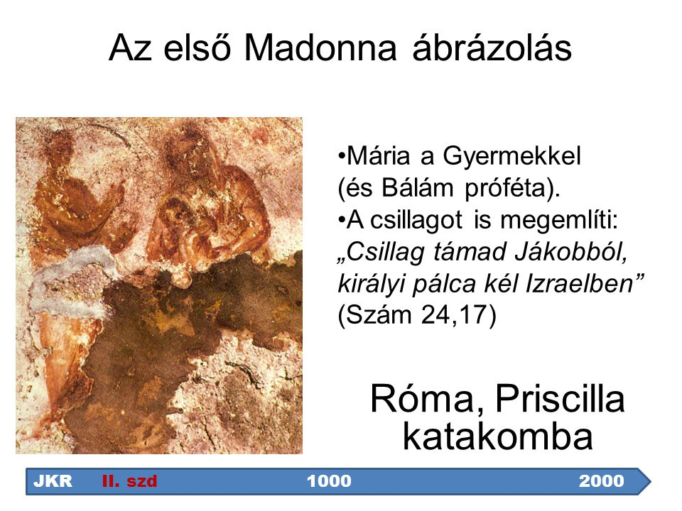 Az első Madonna ábrázolás