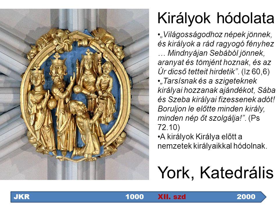 York, Katedrális Királyok hódolata
