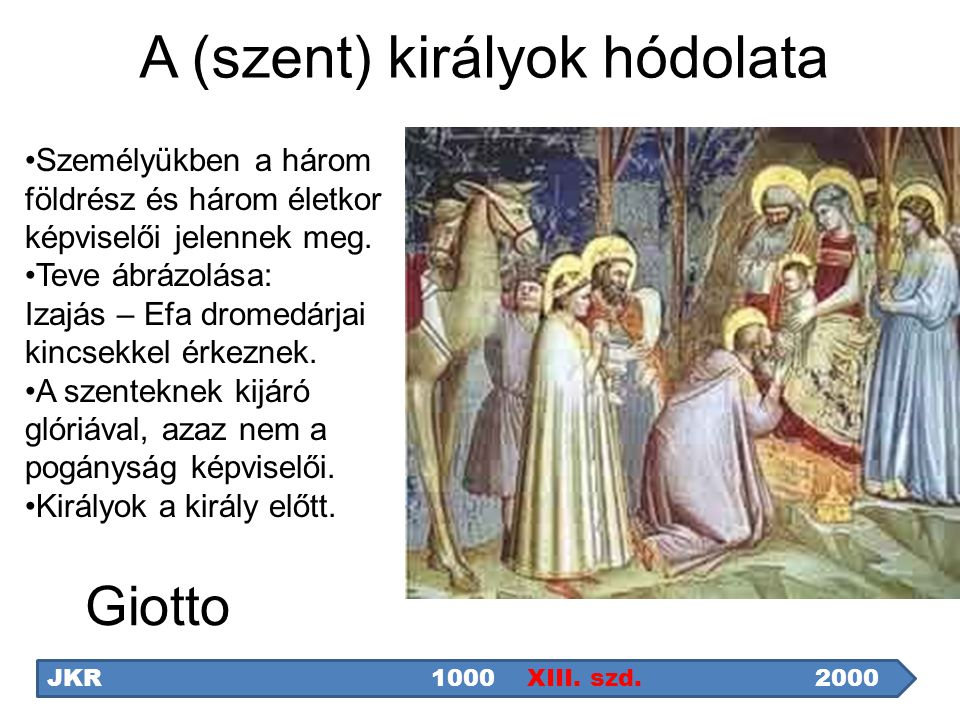A (szent) királyok hódolata