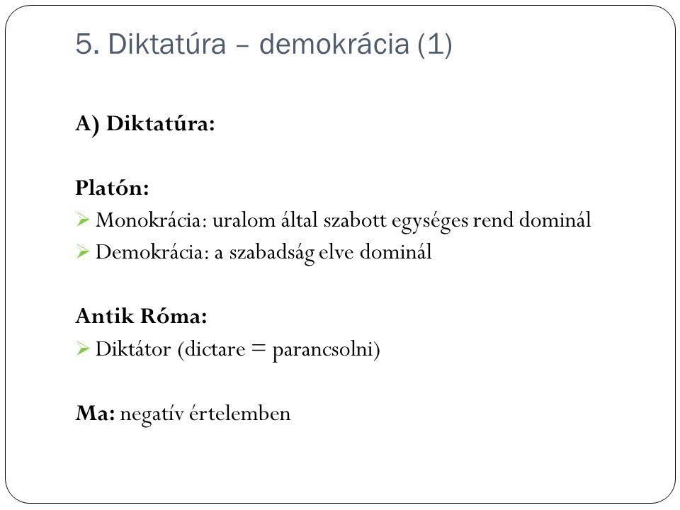 5. Diktatúra – demokrácia (1)