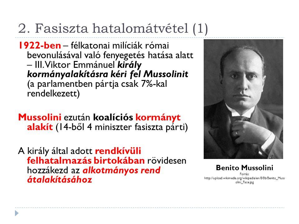 2. Fasiszta hatalomátvétel (1)