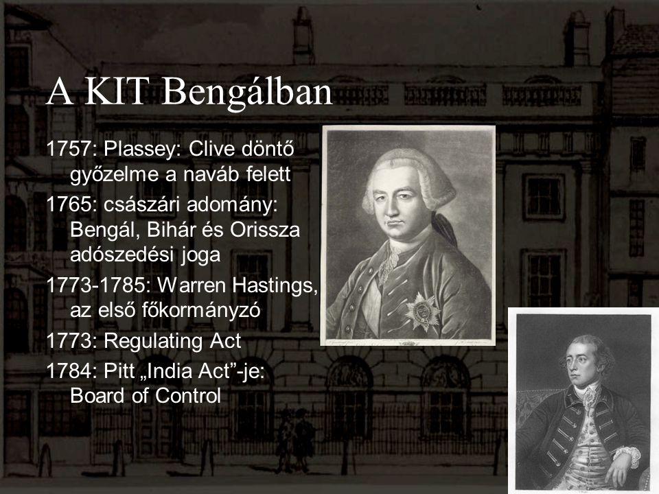 A KIT Bengálban 1757: Plassey: Clive döntő győzelme a naváb felett